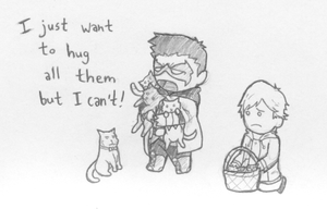Can't Hug Every Cat by b-dangerous