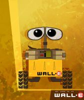 WALL-E_Poster by Simpsons-Addict