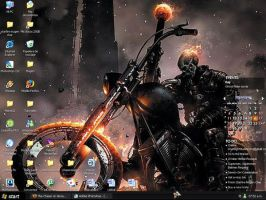 Ghost Rider DEsktop by The-Chaser