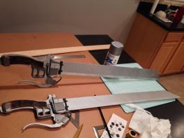 Attack on Titan Blades by SirDeLundo