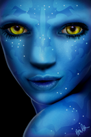 Avatar Face by Bunnyleigh