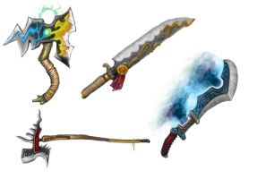 more weapons by GreenAirplane