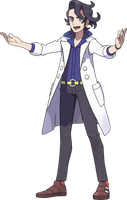 Professor Sycamore by PokemonBrendan