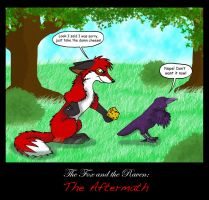 The Fox and the Raven: The Aftermath by iFoxSpirit