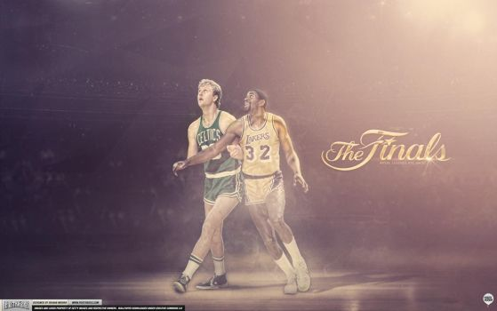 NBA Finals Wallpaper by IshaanMishra