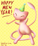 Happy Mew Year by sapphireluna