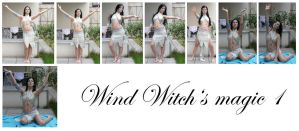 wind witch's magic1 by syccas-stock