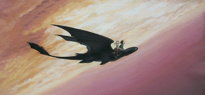 How To Train Your Dragon - Romantic Flight by DaEliminator