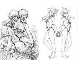 new oc's from small sketchbook 33 by infinitestudios2005