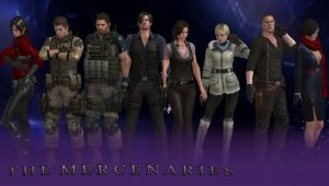 Resident Evil 6: The Mercenaries by DanCharles