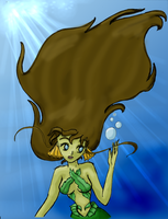 Mermaid - Ansigari's Lineart by whysp80