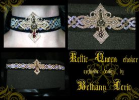 Keltic Queen choker by redLillith