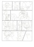 Sonic Comic Sketch by ninetailz3000