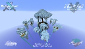 Icelands -  Skywars Map - 01 by TheFlyinFerret