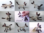 Fennec Fox Doll by vonBorowsky