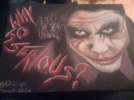 Joker / Heath Ledger by CplSarCia