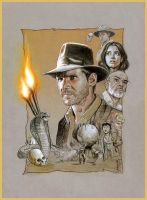 Indiana Jones by jasonpal
