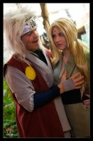 Jiraiya and Tsunade - Feelings by Kuragiman