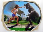 50ft Woman Vs King Kong by MatthewHuntley