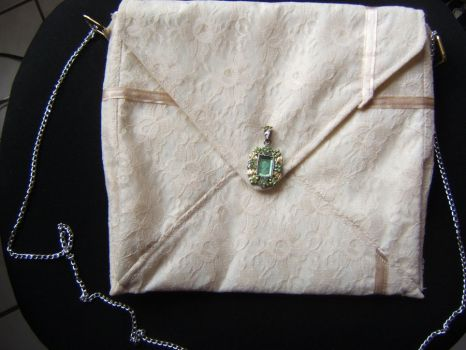 Letter Bag Front by kuroidono