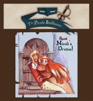Webcomic - TPB - Nicoli's Dream - cover by Dedasaur