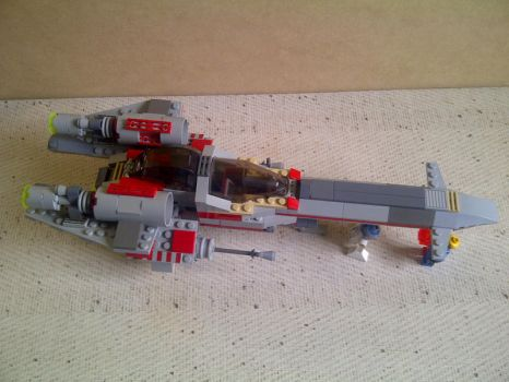 Lego I-Wing v.2 by qralius