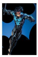nightwing   march26th2014 by spiderguile XGX2 by knytcrawlr