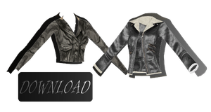 [MMD] LEATHER JACKETS [+DL] by Sims3Ripper