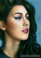 Elif (Colored Pencil Drawing) by LMan-Artwork