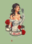 40's starlet by Clavelle