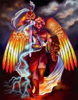 Archangel Michael by saeriellyn