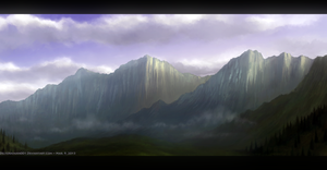 Chasm ~ Speed-painting by Enigmatic-Ki
