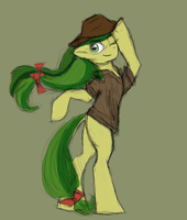 Apple Fritter at your service by HorrorTime
