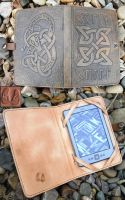 Celtic Kindle Cover Inside and out by Half-Goat