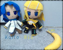 Vocaloid plushes! wait... by KittyNinja2009