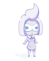 Pkmoon: Wednesday Chibi by TheLonelyQueen