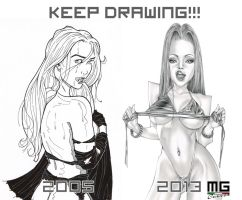 Keep drawing! by MarcoGuaglione
