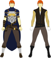 Damon - Outfit Concept Art by Tagrberry