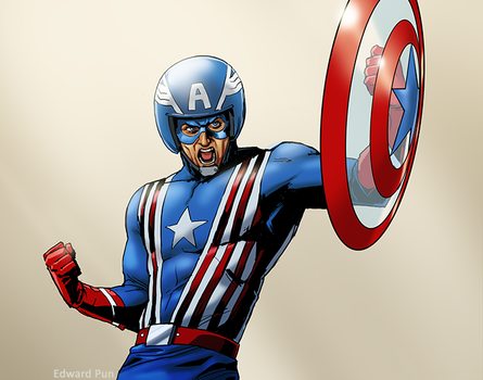 Captain America: Sentinel of Liberty by pungang