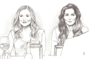 Maura Isles and Jane Rizzoli by Lady-Hannah