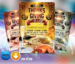 Thanksgiving party Flyer Template by Arrow3000Graphics