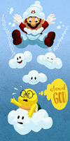 SMG2 God of Clouds by UUUinfinity
