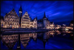 Gand by night by zardo