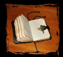 spellbook grimmoire by Lagueuse