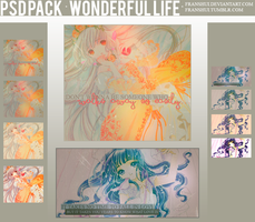 PSD PACk (Wonderful Life) by Franshui