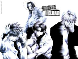 Saiyuki Flow Wallpaper by cyancat