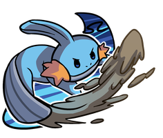 Mudkip by Smearg