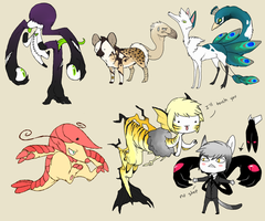 all of the derps by Kemikel