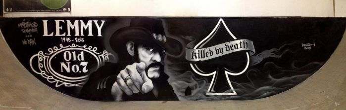 Homage to Lemmy by PE7CH