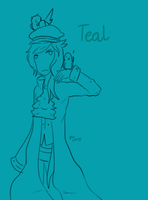 Teal - OCs by princess-altaria